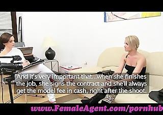 femaleagent. lets wank jointly